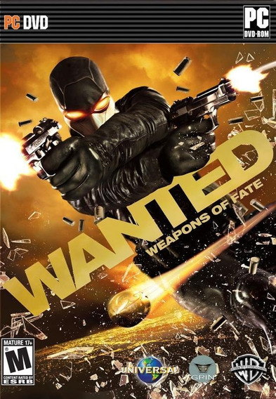 Jogo Pc The Wanted Weapons Of Fate Original Lacrado