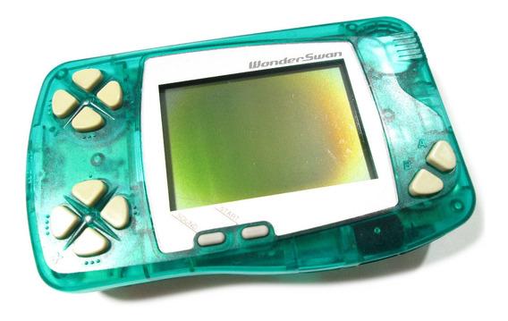 Wonderswan Green Original Bandai Para Reparos
