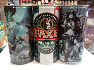 Cerveza Faxe , Lata 1 Litro Rubia De Dinamarca