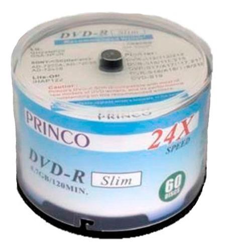 Dvd Virgen Princo Slim 4.7gb Torre 60 Unds Mayor  Detal Nano