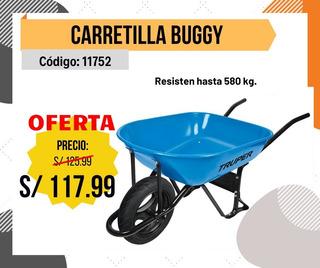 Carretilla Buggy Truper