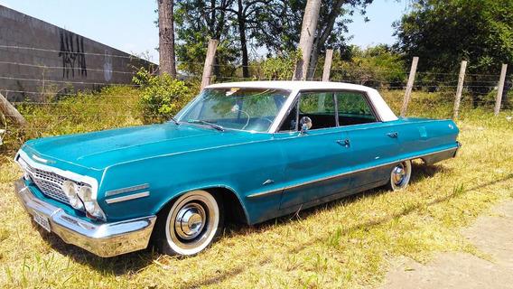 Chevrolet/gm Impala 1963 (4 Porta S/ Coluna) - Doc Ok