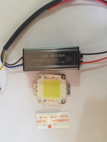 Chip Led 50w + Driver 50w