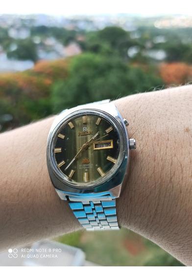 Relógio Ricoh Mostrador Verde Translucido - Impossível Igual