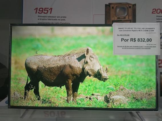 Smart Tv 43 Polegadas L43s4900fs Tcl Com Garantia