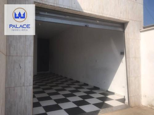 Imagem 1 de 4 de Salão Para Alugar, 45 M² Por R$ 800,00/mês - Parque Residencial Monte Rey Ii - Piracicaba/sp - Sl0157