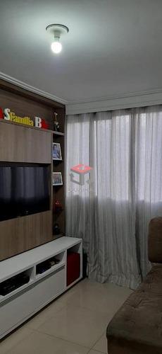 Apartamento À Venda, 2 Quartos, 1 Vaga, São Vicente - Mauá/sp - 98395