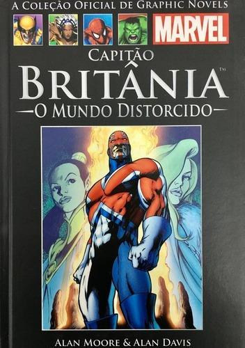 Imagem 1 de 2 de Hq Marvel - Capitão Britânia Ed. 3