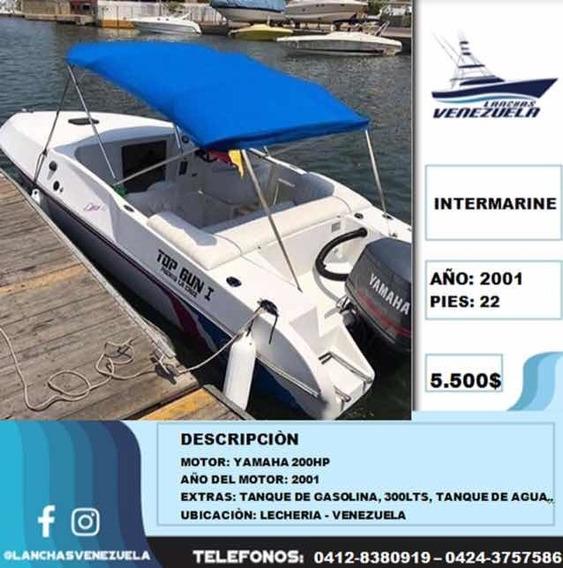 Lancha Intermarine 22 Lv216