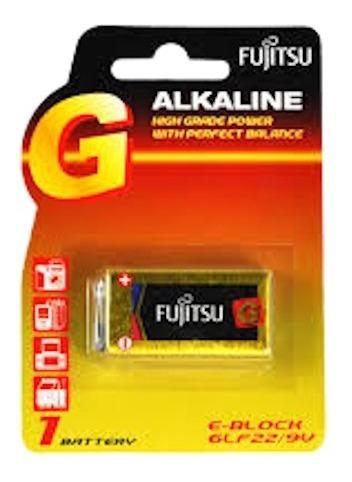 Bateria Alkalina Fujitsu 9v