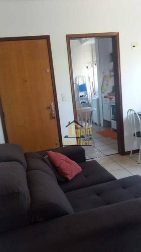 Apartamento Com 1 Dormitório Para Alugar, 60 M² Por R$ 1.000,00/mês - Jardim Paulista - Ribeirão Preto/sp - Ap2230
