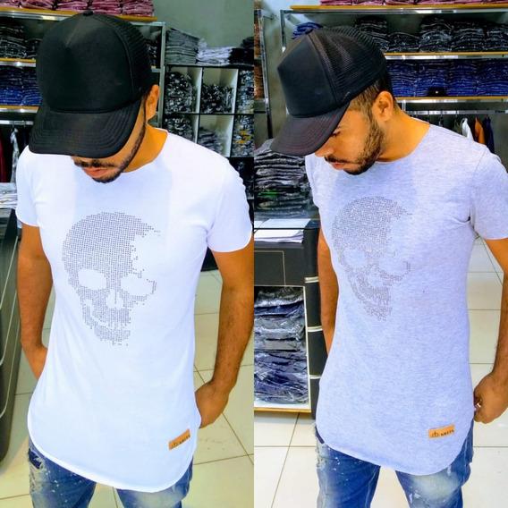 Camiseta Longline Kreta