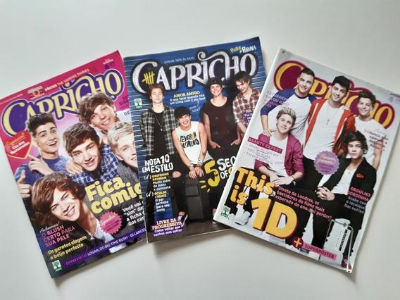 Revistas Capricho One Direction Variadas 9uni F702