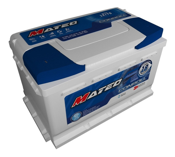 Bateria Mateo 12x75 Nafta Ford Ranger