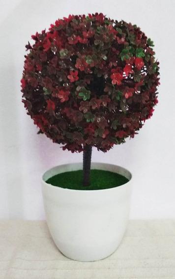 Planta Artificial Con Maceta Arbolito C/u Belgrano