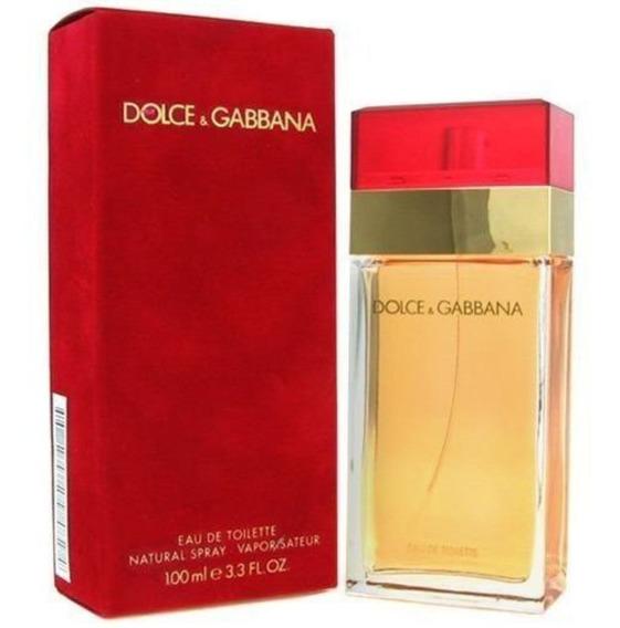 Dolce & Gabbana Feminino Vermelho 100ml - Original + Nf-e