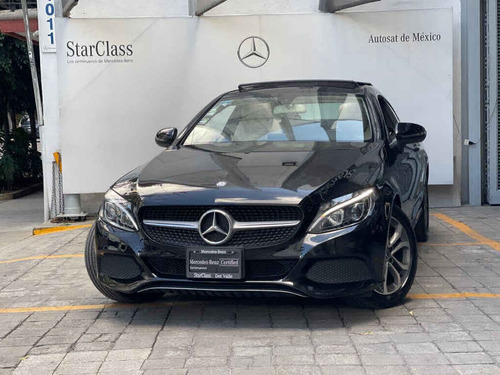 Imagen 1 de 15 de Mercedes-benz Clase C 2017 2p C 180 Coupé L4/1.6/t Aut Tech