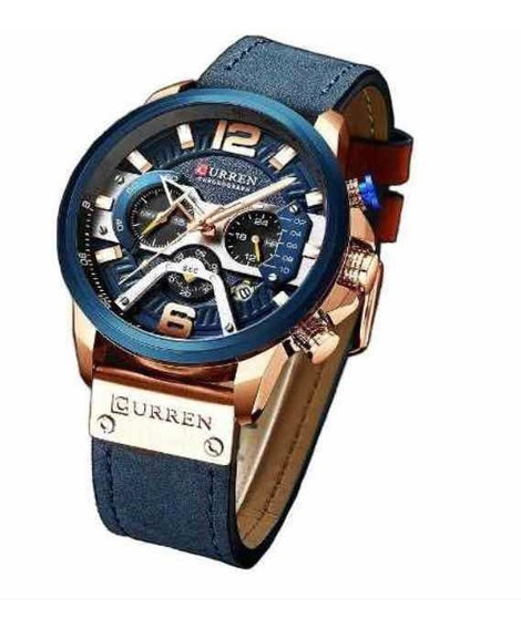 Relógio Masculino Original Curren 8329 Lançamento