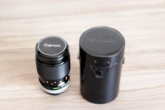 Lente Canon Fd 135mm 2.5 Sony A6300 A6400 A6500
