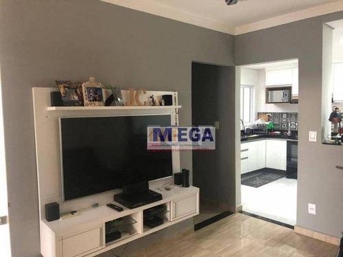 Casa Com 2 Dormitórios À Venda, 70 M² Por R$ 372.500 - Parque Via Norte - Campinas/sp - Ca2379