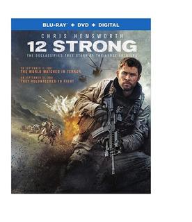 Blu-ray + Dvd 12 Strong / Tropa De Heroes