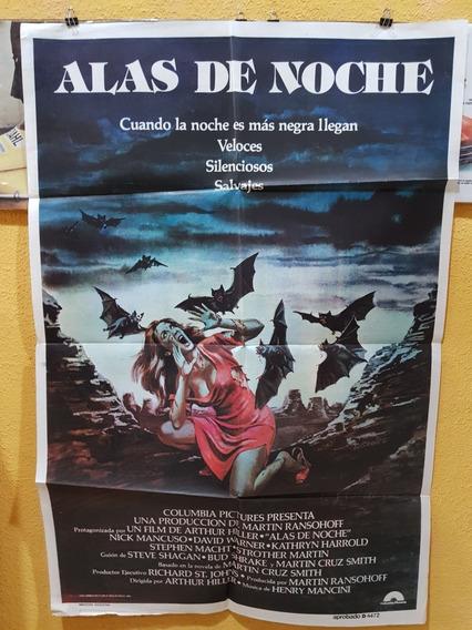 Antiguo Afiche De Cine Original De Terror-envio Gratis