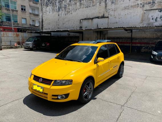 Fiat Stilo Amarelo Sporting 2011 Com Teto Sky Window