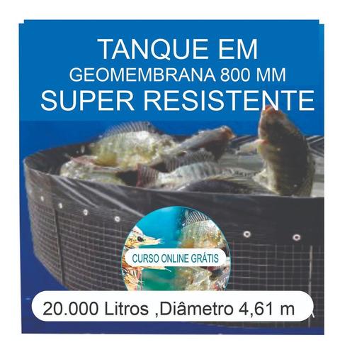 Imagem 1 de 6 de Kit Tanque 20.000l,geomembrana,testes, Fertilizantes E Curso