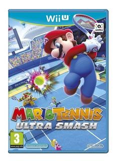 Juego Mario Tenis Ultra Smash Nuevo Sellado