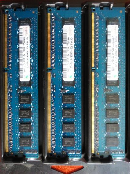 Memoria Ram Hynix 1rx8 1gb Pc3-10600e 1gb 1rx8 (pack X 3)