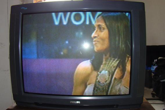 Televisão 29 Philips - 110-220 Volts - Vendo Ou Troco