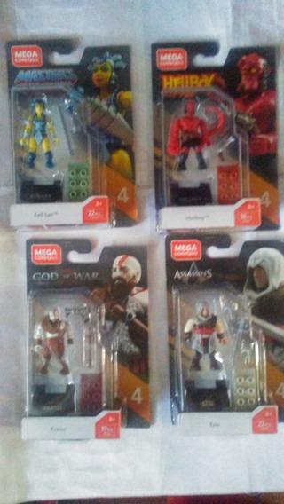 Kratos Hellboy Evil Lyn Ezio Mega Construx Mega Bloks 4