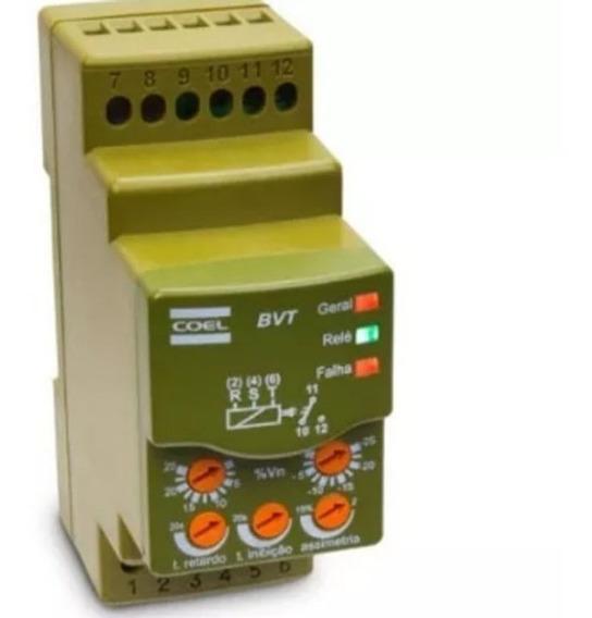Rele Monitor Falta De Fase Mín. Máx. Tensão Bvtd-p 220v Coel