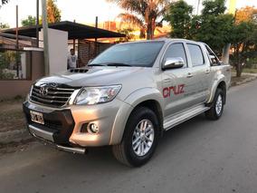 Toyota Hilux Srv 4x4 3.0 Tdi Automática / Cuero