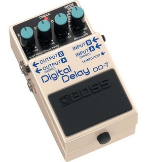 Pedal Efecto Para Guitarra Electrica Boss Dd7 Digital Delay