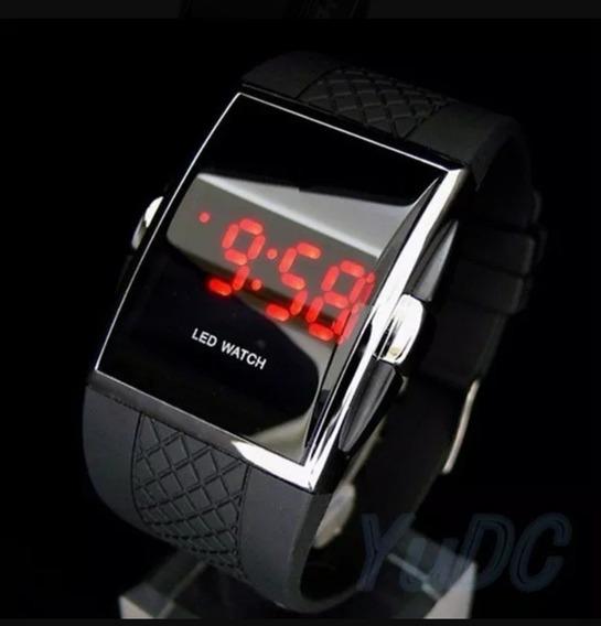 Relógio Led Watch Digital Unissex (crianças Ou Adultos)