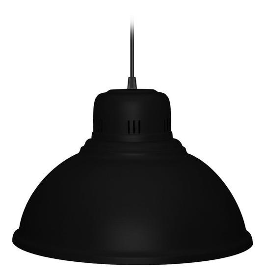 Campana-colgante Metalico 38cm Negro