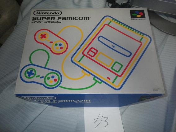 Game / Super Famicom /com Caixa / Manual Código Não Bate