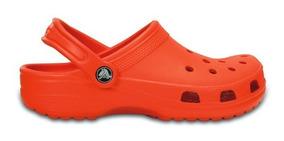 Zapato Crocs Caballero Classic Clog Naranja