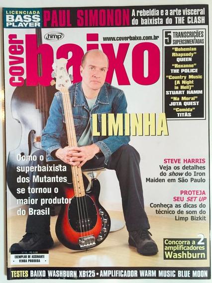 Revista Cover Baixo - Ed 18 - Mar/2004 - Liminha
