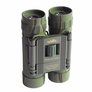 Binocular Camuflaje Compacto 10x25 Mm Wallis Bi271308