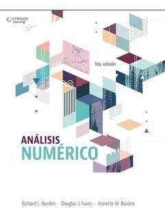 Analisis Numerico Burden Nuevo Cengage Envio A Todo El País