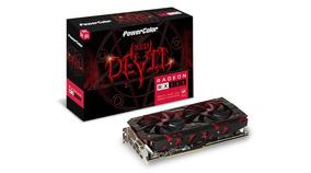 Placa De Vídeo Rx 580 Radeon Red Devil 8gb Powercolor Axrx
