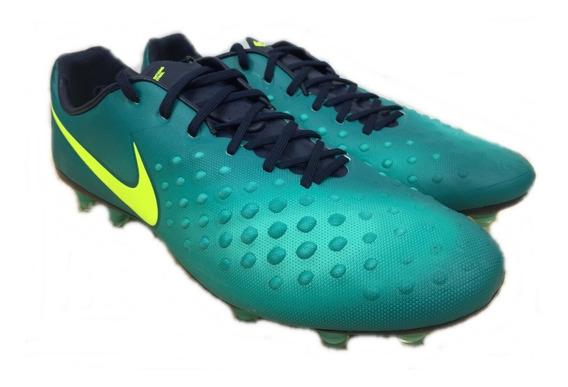 Botin Nike Magista Opus Ii Fg Futbol Profesional Verde