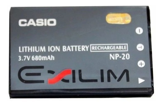 Bateria Casio Np-20 Original Casio Exilim Ex-z75 Z77 Z8