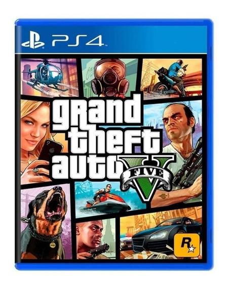 Grand Theft Auto V - Gta 5 - Ps4 - ( Gta V ) Física - Usado