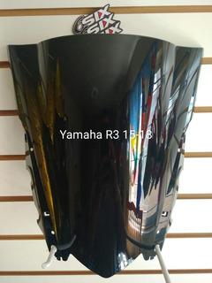 Parabrisas Mica Moto Yamaha R3 2015-2018
