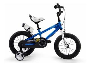 Bicicleta Infantil Rodado 12 Royal Baby Freestyle