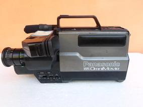 Filmadora Antiga Para Colecionadores Panasonic Vhs Omnimovie