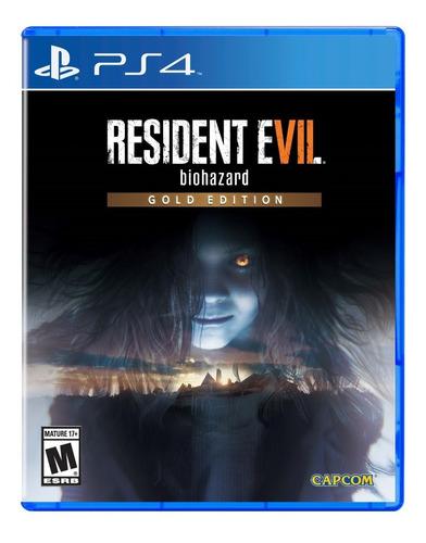 Resident Evil 7 Gold Edition - Ps4 Fisico Nuevo Y Sellado